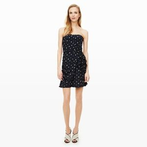 Club Monaco Harper Silk Dress Aviator Navy 4